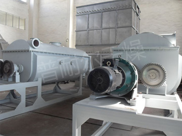 Silicon carbide drying production line