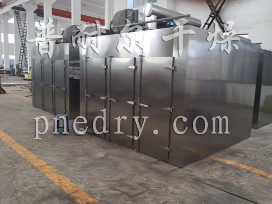 Hot air circulation oven finished products to be shipped